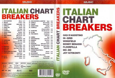 Italian Chart Breakers (1DVD) 2004