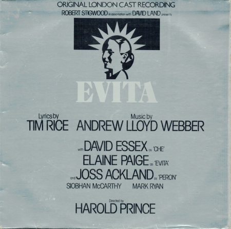 Evita - Musical (1978) (1CD) (Andrew Llyod Webber) (Original London Cast)