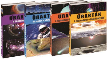Űrakták - A világegyetem,A Naprendszer-belső bolygók, A Naprendszer-külső bolygók,Az ember a világegyetemben (4DVD) (2004)