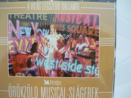 Örökzöld Musical-Slágerek (3CD box) (Reader's Digest) (A Világ Legszebb Dallamai sorozat)