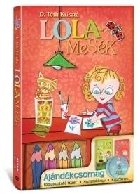 D. Tóth Kriszta: Lolamesék (DVD+CD+foglalkoztató füzet)