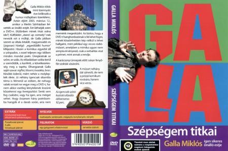 Galla Miklós: Szépségem titkai (1DVD)