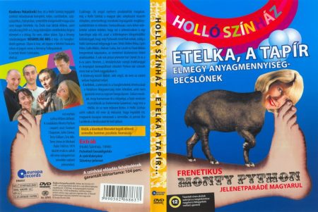 Holló Színház - Etelka, a tapír elmegy anyagmennyiség-becslőnek (1DVD)