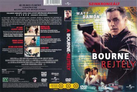 Bourne-rejtély, A (2002) (1DVD) (Matt Damon) (Select Video kiadás)