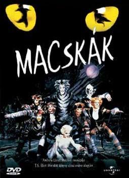 Macskák (1998 - Cats) (1DVD) (Andrew Llyod Webber)
