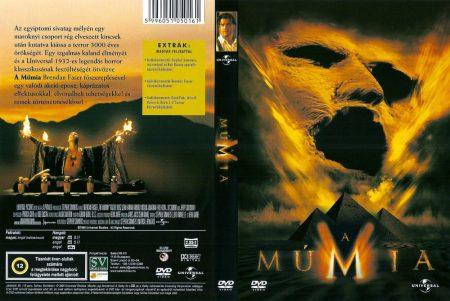 Múmia 1. (1999) (1DVD) (Brendan Fraser) (Select Video kiadás) (szinkron)
