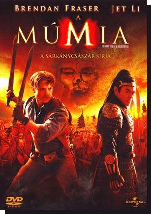 Múmia 3., A - A Sárkánycsászár sírja (2008) (1DVD) (szinkron)