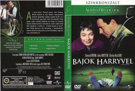 Bajok Harryvel (1DVD) (Alfred Hitchcock) (szinkron) ( minimálisan használt )