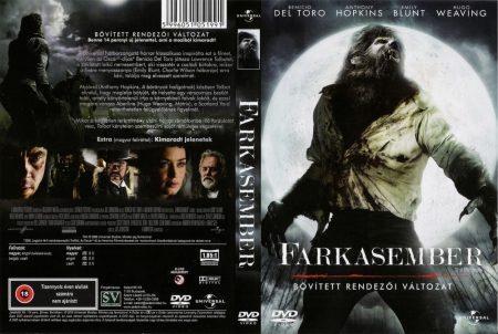 Farkasember, A (2010 - The Wolf Man) (1DVD) (remake) (Benicio Del Toro) (bővített. rendezői változat) (szép állapotú példány)