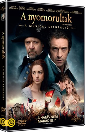 Nyomorultak, A (2012) (1DVD) (Hugh Jackman - Anne Hathaway) (Oscar-díj)