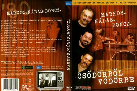 Markos, Nádas, Boncz: Csődörből vödörbe (1DVD) (szép állapotú példány)