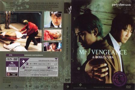 Mr. Vengeance - A bosszú ura (1DVD) (Park Chan-Wook - Bosszú trilógia)