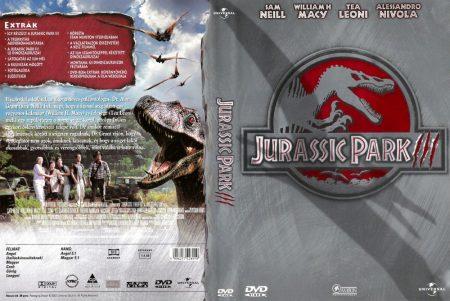 Jurassic Park 3. (1DVD) (Universal kiadás) (használt, karcos)