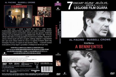 Bennfentes, A (1DVD) (The Insider) (Al Pacino - Russell Crowe)