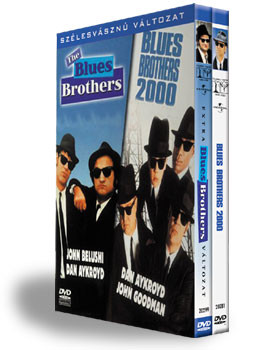 Blues Brothers / Blues Brothers 2000 (2DVD box) (DVD díszdoboz)