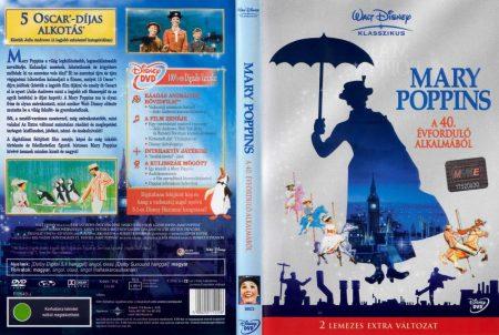 Mary Poppins (2DVD) (extra változat) (Oscar-díj) (Intercom kiadás)
