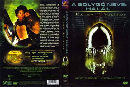 Alien 2. - A Bolygó neve: Halál (2DVD) (mozi és rendezői változat) (extra változat) (szinkron)