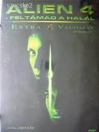 Alien 4. - Feltámad a Halál (2DVD) (mozi és bővített változat) (extra változat) (Intercom kiadás) (szinkron)