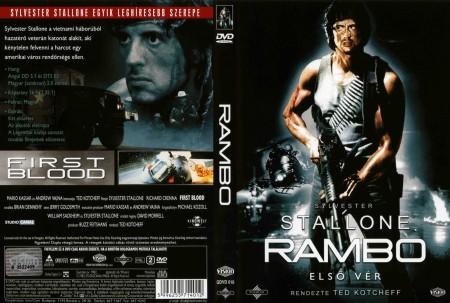Rambo 1. - Első vér (1DVD) (Legendák klubja kiadás)