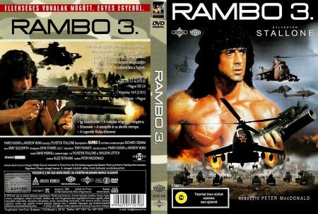 Rambo 3. (1DVD) (Legendák klubja kiadás) (külső papírtok nélkül)
