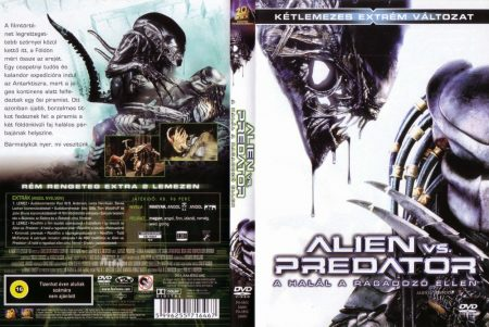 Alien Vs. Predator 1. - A Halál a Ragadozó ellen 1. (2DVD) (kétlemezes extrém változat)