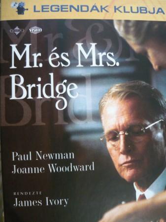 Mr. és Mrs. Bridge (1DVD) (Paul Newman) (Legendák klubja kiadás) (külső papírtok nélkül)
