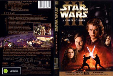 Star Wars 3. - A Sith-ek bosszúja (2DVD) (extra változat) (szinkron)