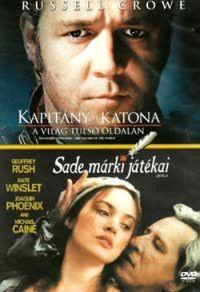 Kapitány és katona: A világ túlsó oldalán (Oscar-díj) / Sade márki játékai (2DVD)