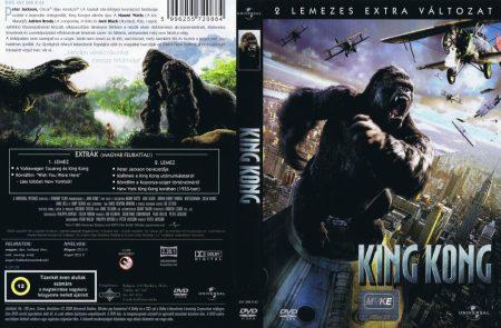 King Kong (2005) (2DVD) (extra változat) (Adrien Brody - Peter Jackson)
