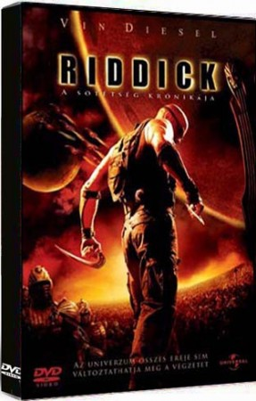 Riddick - A sötétség krónikája (1DVD) (Universal kiadás)