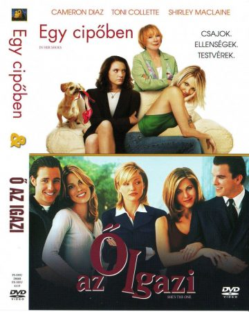 Egy cipőben / Ő az igazi (2DVD) (In Her Shoes, 2005 / Shes the One, 1996) (Twinpack) (Cameron Diaz)