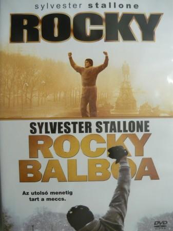 Rocky 1. / Rocky 6. - Rocky Balboa (2DVD) (Oscar-díj) (szinkron)