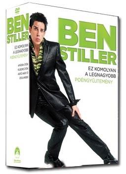 Apádra ütök / Vejedre ütök / Agyő, nagy Ő! / Zoolander - A trendenkívüli (4DVD box) (Ben Stiller gyűjtemény) (DVD díszkiadás)