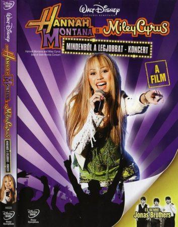 Hannah Montana - Miley Cyrus: Mindenből a legjobbat koncert (1DVD) (Hannah Montana - Miley Cyrus - Best of Both Worlds Concert, 2008) (Disney) felirat