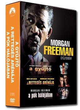 Gyűjtő, A / Rettegés arénája, A / Pók hálójában, A (3DVD box) (Morgan Freeman gyűjtemény) (DVD díszkiadás)