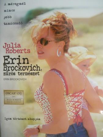 Erin Brockovich - Zűrös természet (1DVD) (Erin Brockovich, 2000) (Oscar-díj)