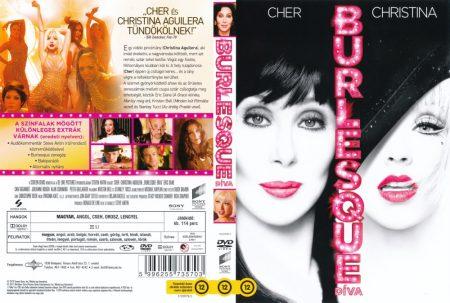 Burlesque - Díva (1DVD) (használt, karcos példány)