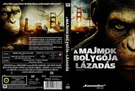 Majmok bolygója, A - Lázadás (2011) (1DVD)