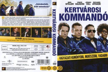 Kertvárosi kommandó (1DVD)