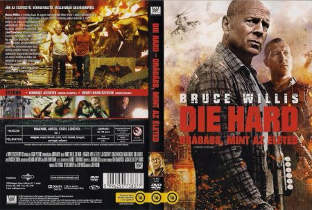 Die Hard 5. - Drágább, mint az életed (1DVD)