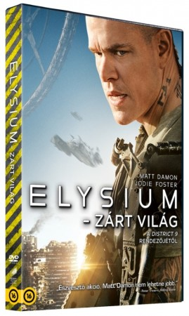 Elysium - Zárt világ (1DVD)