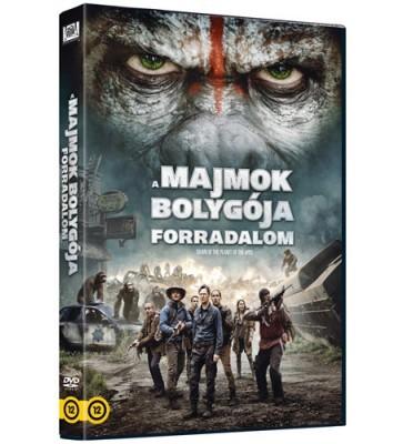 Majmok bolygója, A - Forradalom (2014) (1DVD)