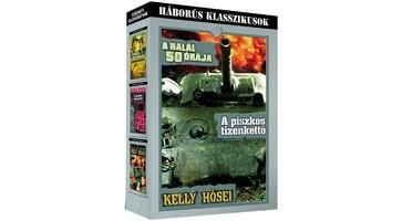 Halál 50 órája, A / Piszkos tizenkettő, A / Kelly hősei (4DVD box) (Háborús klasszikusok gyűjtemény) (DVD díszkiadás) (Oscar-díj)