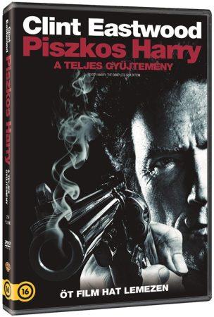 Piszkos Harry 1-5. - A teljes gyűjtemény (6DVD box) (Clint Eastwood) (DVD díszkiadás)