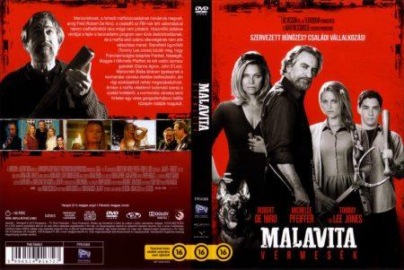 Malavita - Vérmesék (1DVD) (Robert De Niro)( használt, karcos )