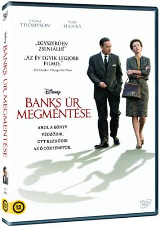Banks úr megmentése (1DVD) (Walt Disney életrajzi film) (új, fóliás példány)