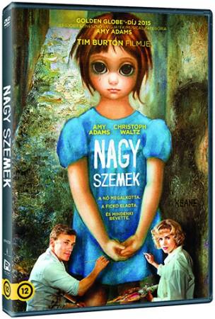 Nagy szemek (1DVD) (Tim Burton - Christoph Waltz) (Walter Keane életrajzi film)