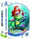 A kis hableány 1.2.3. Díszdoboz (3DVD Box) (Disney)