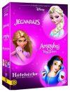 3 filmes gyűjtemény -Disney  (3 DVD)  (Jégvarázs, Aranyhaj, Hófehérke és a hét törpe)