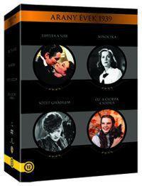 Arany évek 1939 gyűjtemény - Elfújta a szél (kétlemezes változat)  - Óz, a csodák csodája  - Ninocska  - Sötét győzelem (5 DVD)